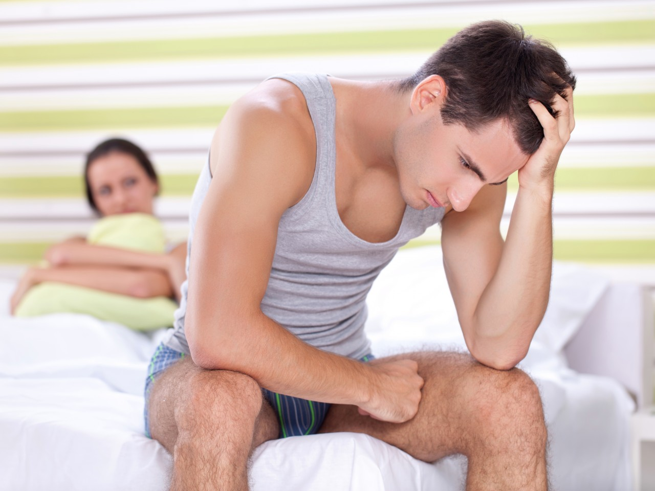 მამაკაცური პრობლემები ორგაზმის დროს