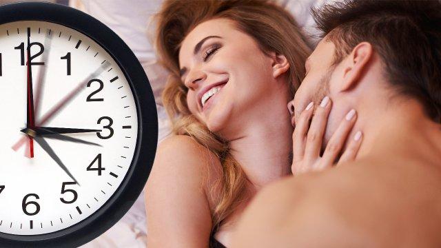 რამდენი დროა საჭირო სექსისთვის?
